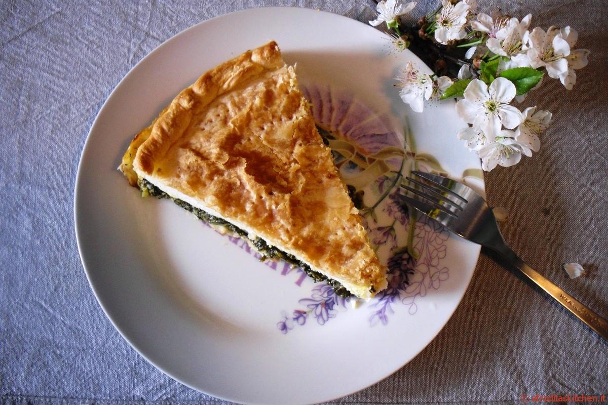 Torta pasqualina tradizionale con variante delle uova di quaglia