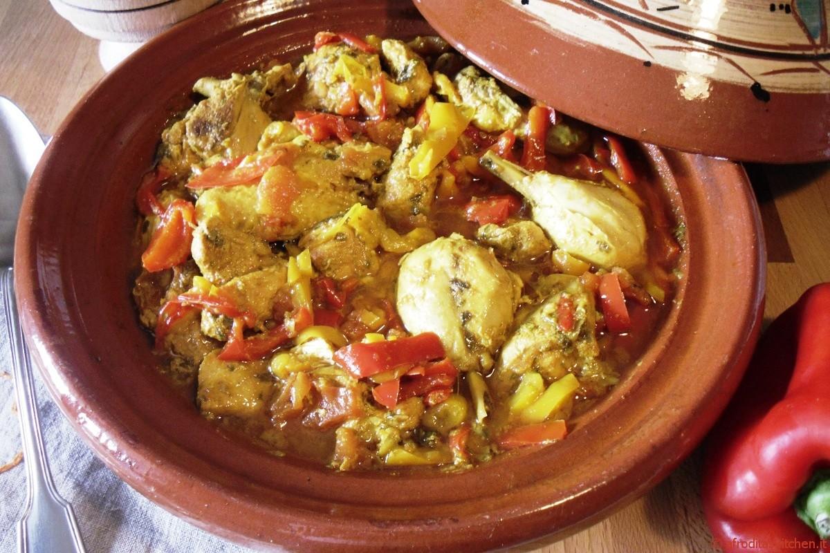 Tajine di pollo con peperoni e spezie per Quanti modi di fare e rifare