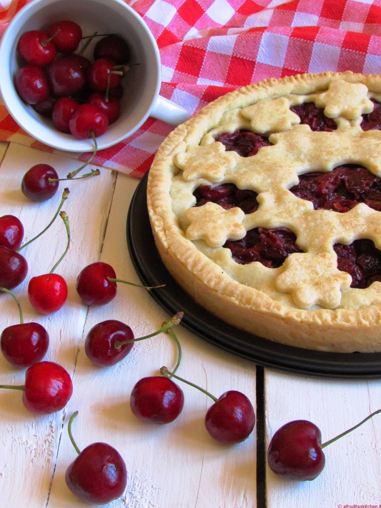 Cherry pie la torta di ciliegie