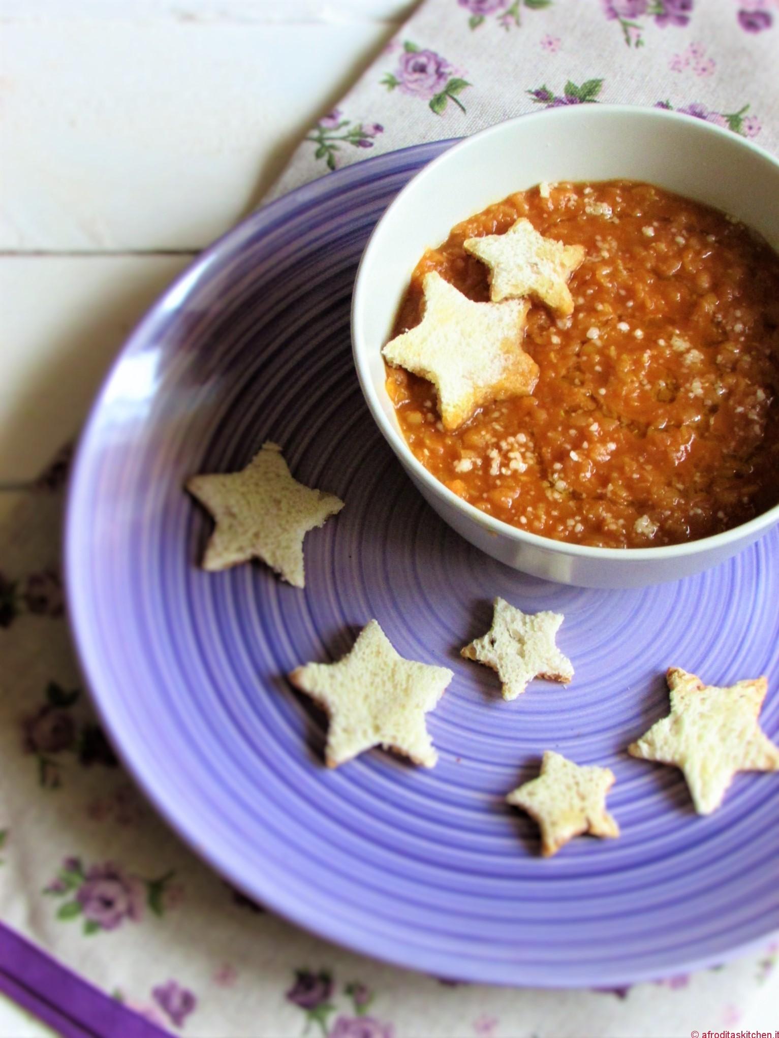 Zuppa di lenticchie rosse per il Calendario del Cibo Italiano