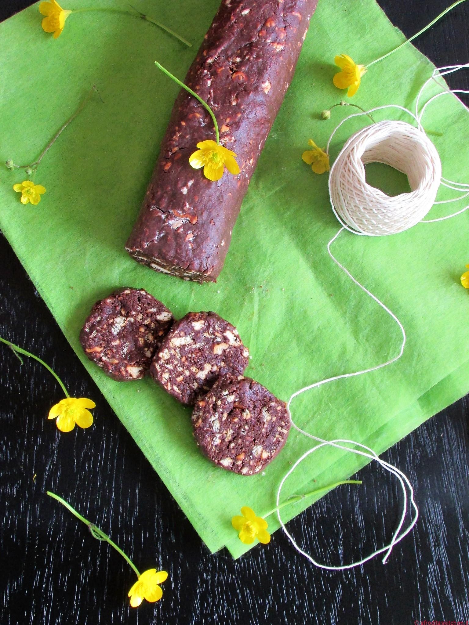 Il salame di cioccolato della mia nonna per il Calendario del Cibo Italiano