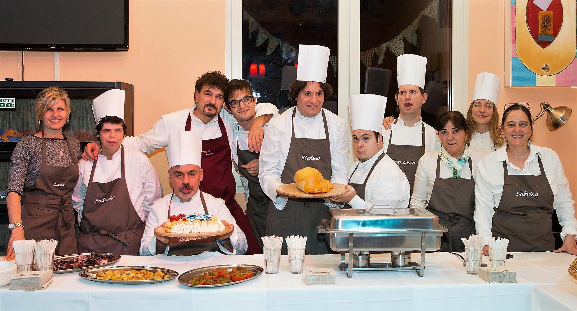 Una brigata speciale ed uno Chef d'eccezione per una cena all'insegna della solidarietà