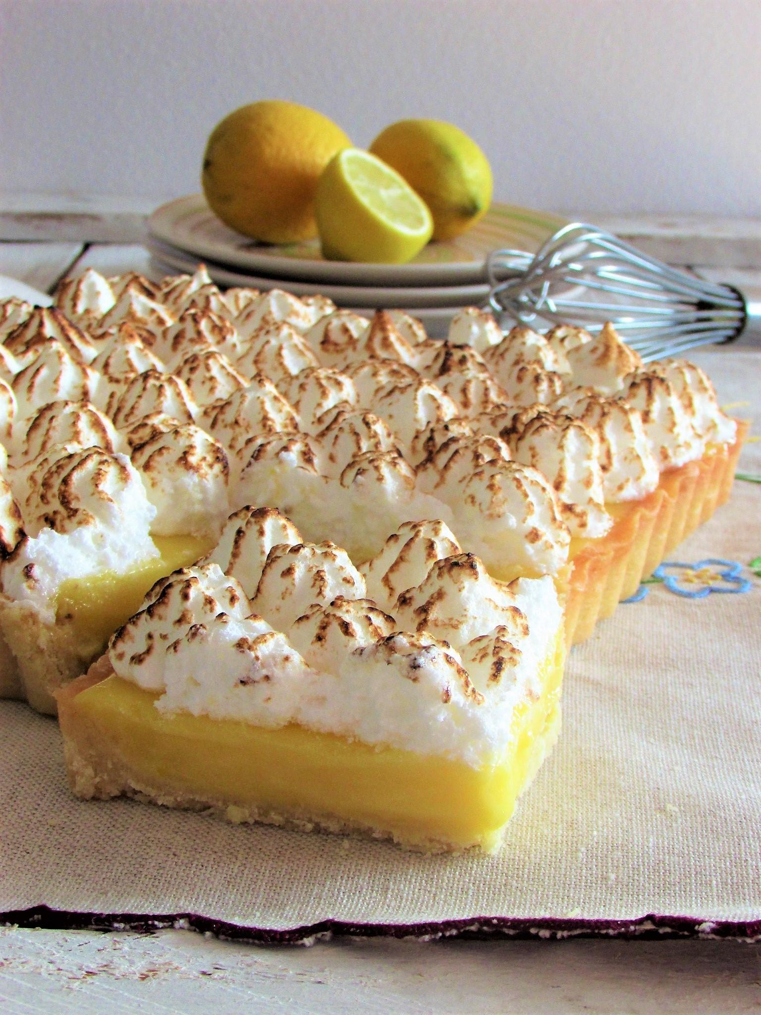 La Lemon Meringue Pie di Ernst Knam per il tema del mese dell'MTC 62