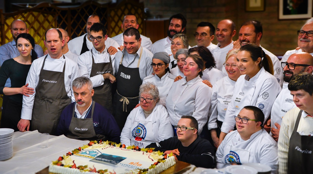 "Cena ""Parma Quality Restaurants per Fiorente"": quando la cucina diventa solidale."